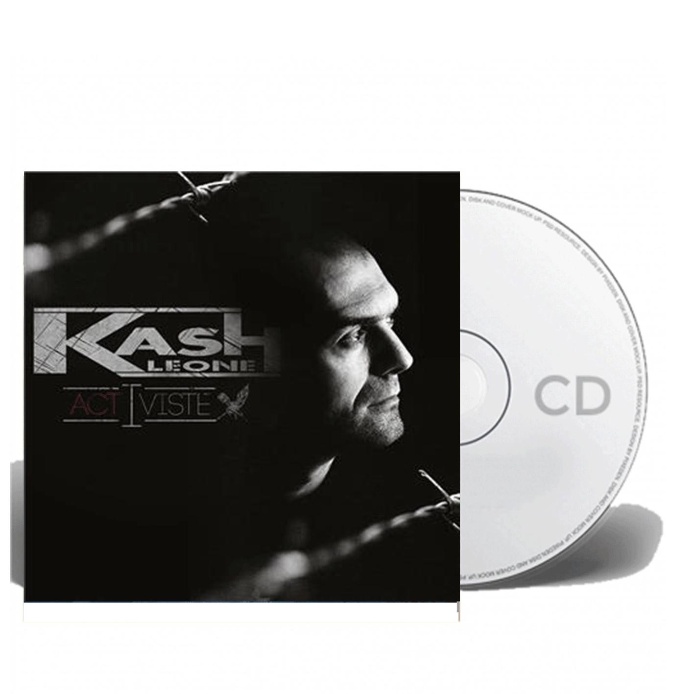 "Album Cd "" kash Leone "" Activiste"