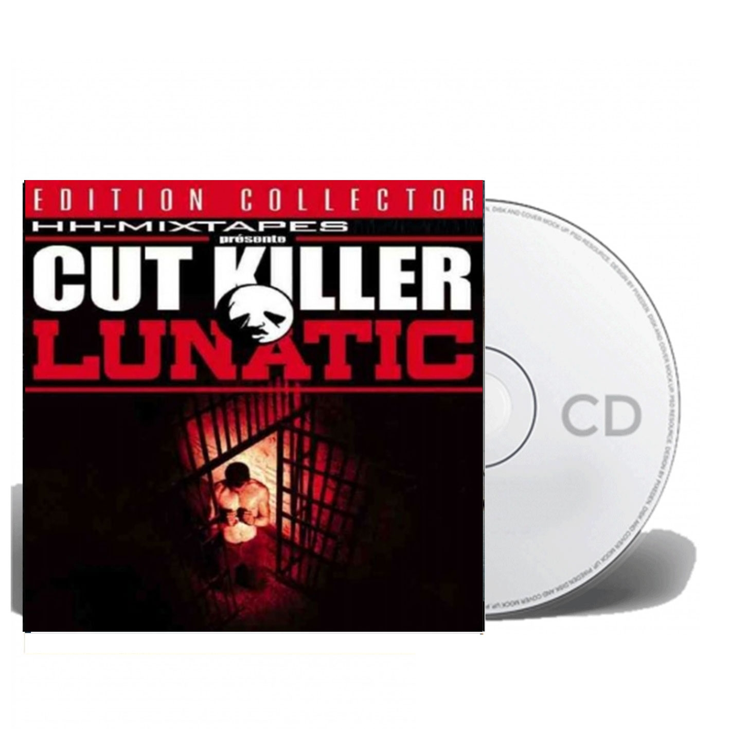 "Album Cd ""Lunatic"" - Cut killer hh Mixtape"