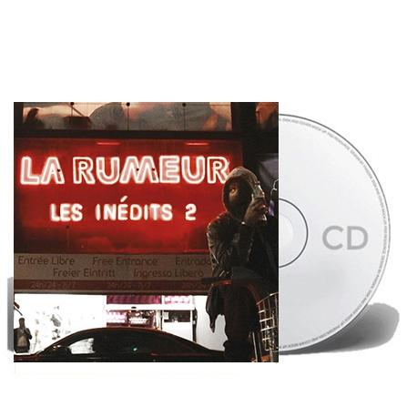 """Album Cd """"La rumeur""""- Les inedits 2"""
