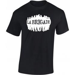 """tee-shirt noir """" La brigade"""""""