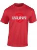 "tee-shirt rouge ""Expression Direkt"""