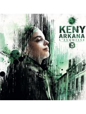 "Album cd Keny Arkana - ""l'esquisse 3"""