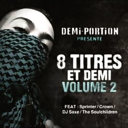 "Album Cd "" Demi-portion "" - 8 titres et demi vol 2"