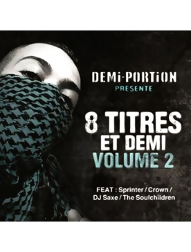 """Album Cd """" Demi-portion """" - 8 titres et demi vol 2"""