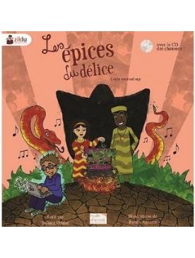 """Livre + cd conte musical rap """"La pluie d'or"""""""