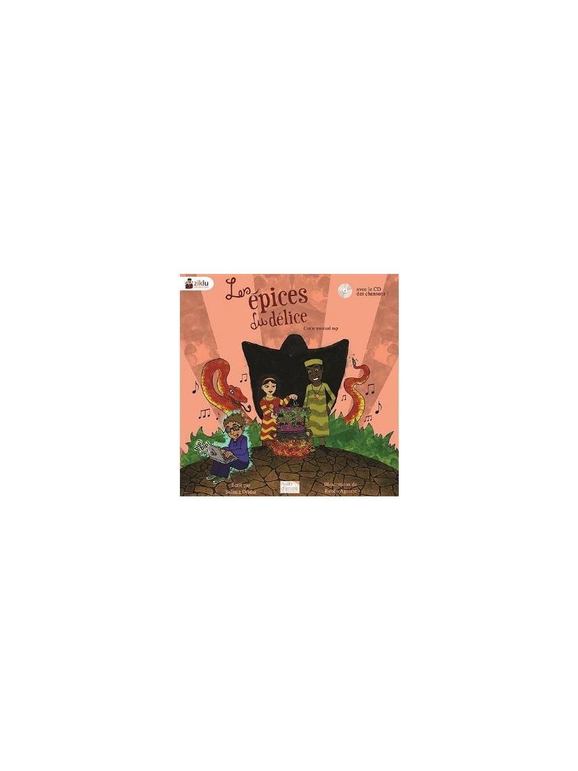 """Livre + cd conte musical rap """"Les épices du délice"""""""