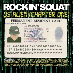 "Album Cd ""Rockin'squat"" - Us Alien Chapter One"