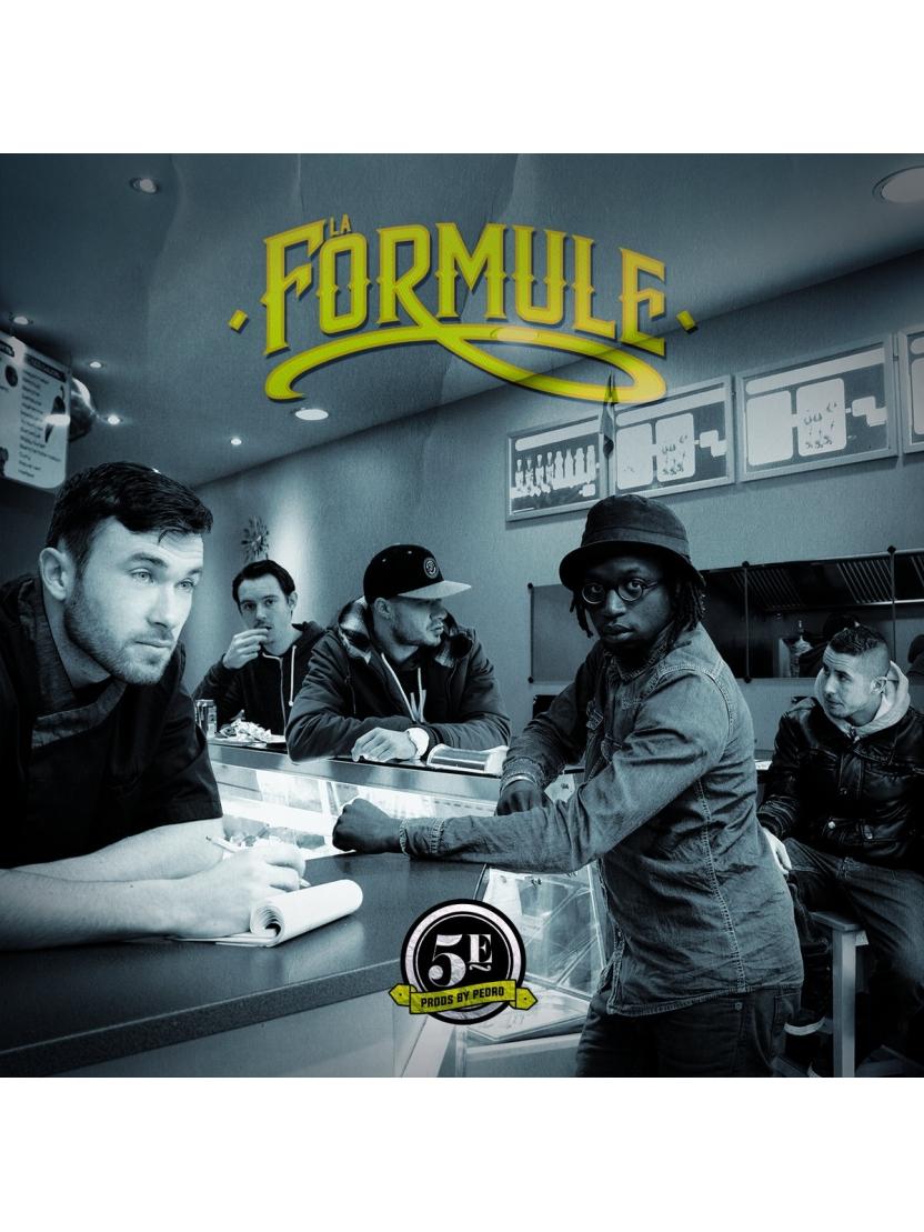 "Album cd ""La formule"" - 5e"