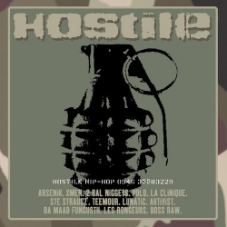 "Album Cd ""Hostile Hip Hop - Hostile"""