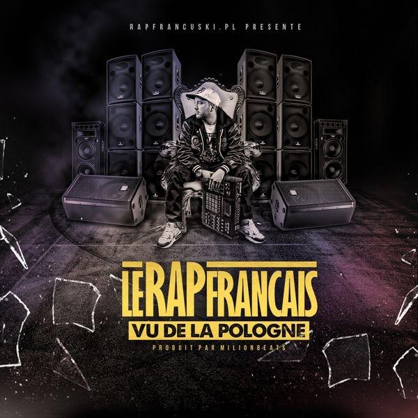 """Album Cd """"Le rap francais vu de la Pologne"""" - Million beats"""