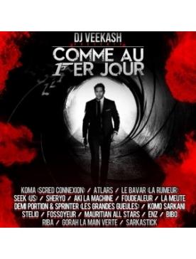 """Album Cd """"Dj Veekash"""" - Comme au 1 er jour"""