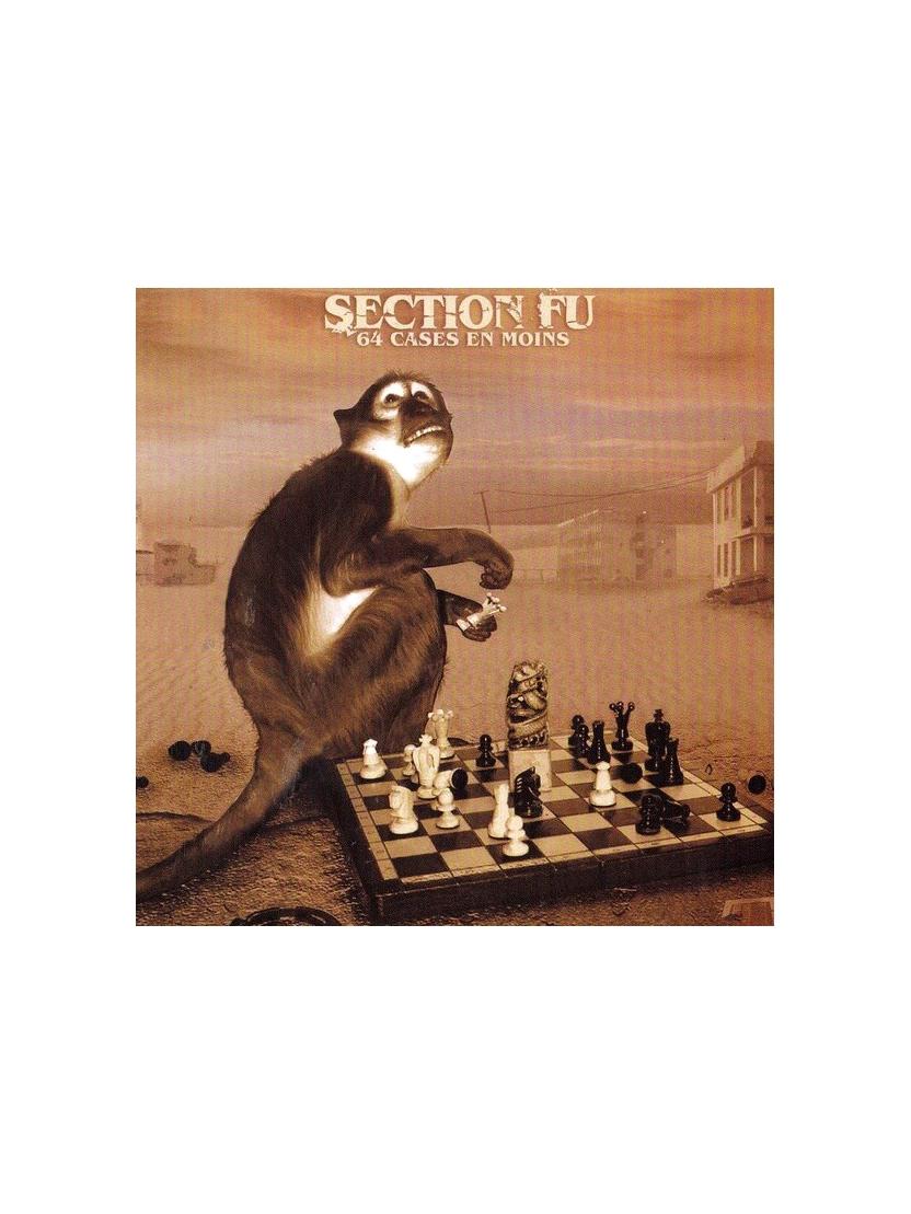 """Album Cd """"Section Fu - 64 cases en moins"""""""