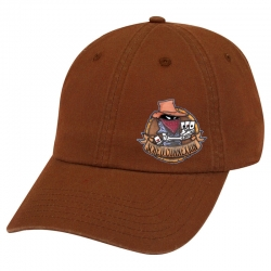 "Casquette ""Carré d'as"" Marron"