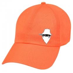 """Casquette """"Dernier Visage"""" Orange"""