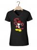 """Tee-shirt femme """"Walt Discrey"""" noir"""