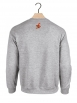 """sweat col rond """"BART"""" gris"""