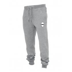 """Pantalon de jogging gris """"petit visage"""""""