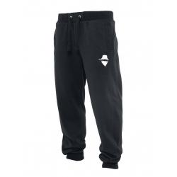 """Pantalon de jogging noir """"petit visage"""""""