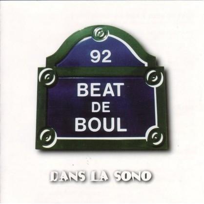 """Album Cd """"Beat de boul"""" - Dans la sono"""