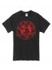"Tee Shirt ""Classico"" Noir logo bordeaux"