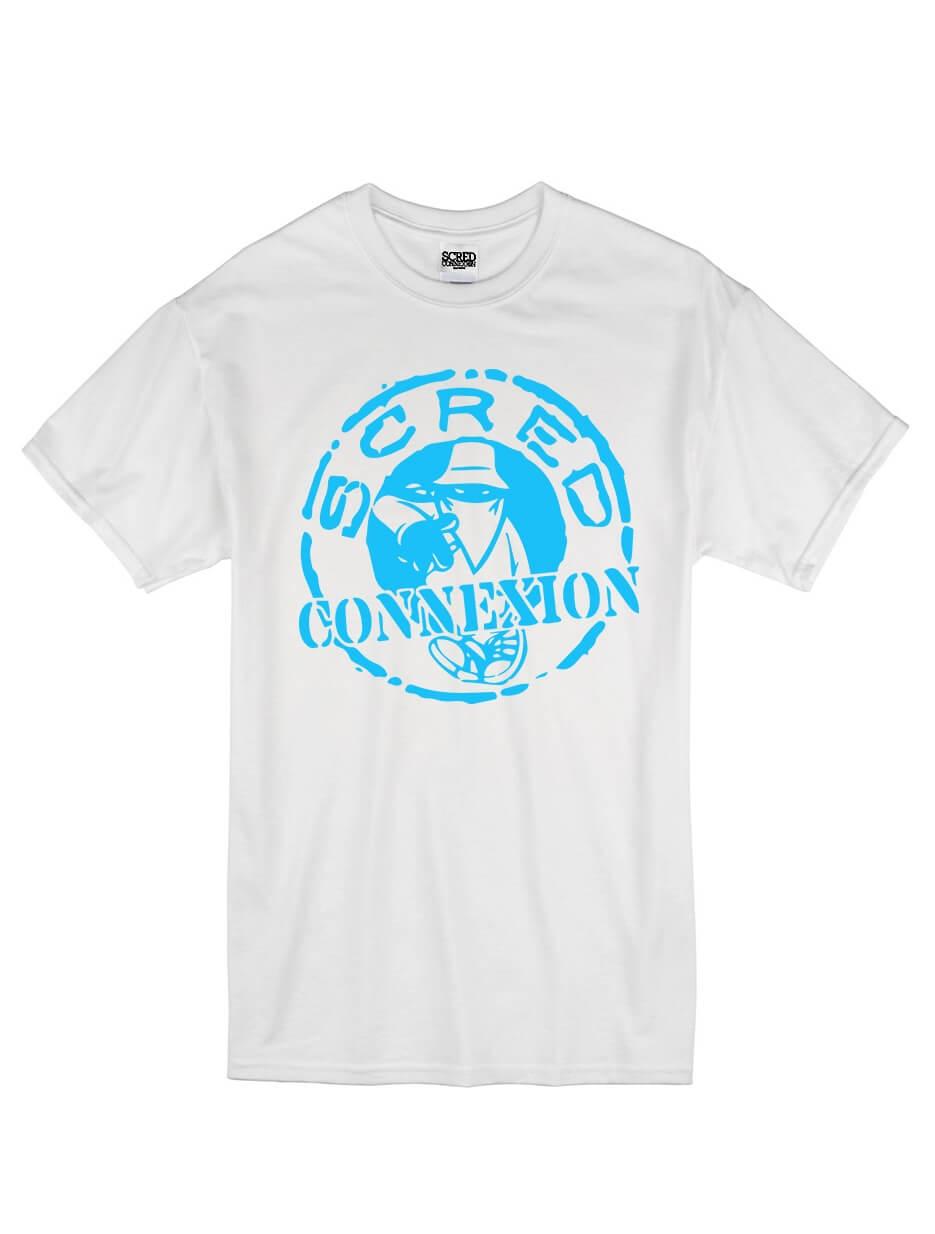 tee-shirt-scred-connexion-classico-blanc-logo-bleu ciel .jpg