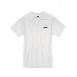 "tee-shirt ""dernier visage"" blanc"