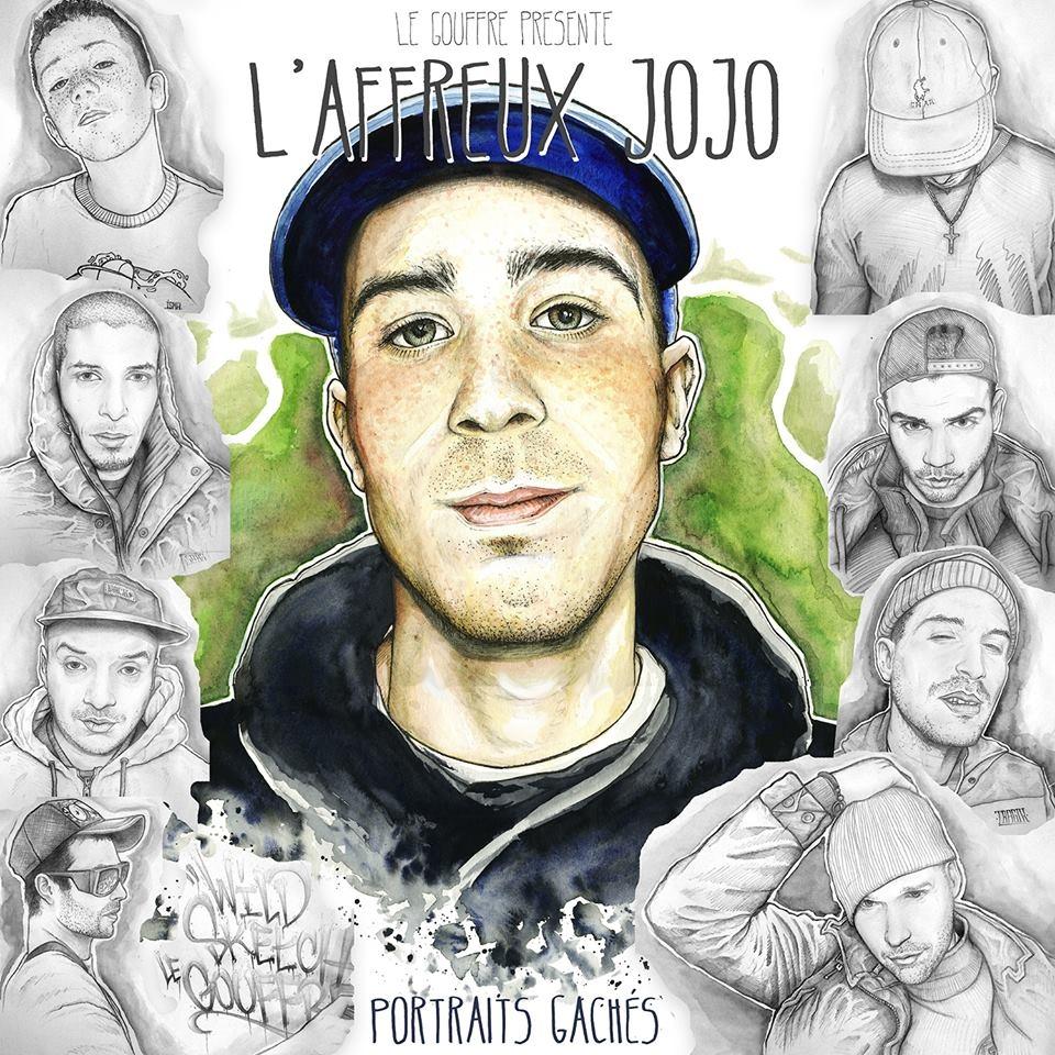"""Album Cd """"L'affreux Jojo - Portraits gachés"""""""