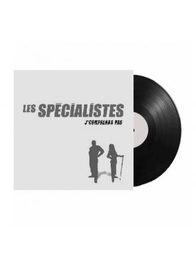 """Album Vinyl """"Les Spécialistes - J'comprends pas"""""""