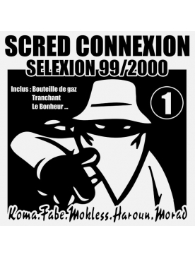 "Album CD Collector Dédicassé ""Scred Selexion vol 1"""
