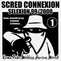 "Album Vinyl Collector Dédicassé ""Scred Selexion vol 1"""