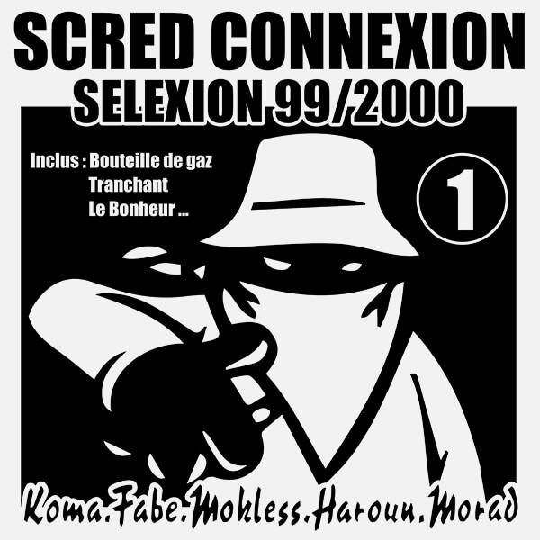 "Album Vinyl Collector Dédicassé ""Scred Selexion vol 1"""