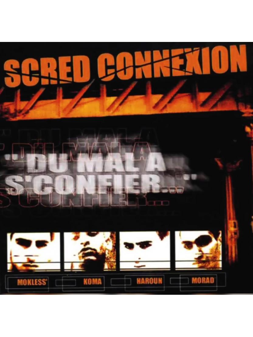 """Album Cd """"Scred Connexion -Du mal a s'confier"""" Edition Collector dédicacée"""