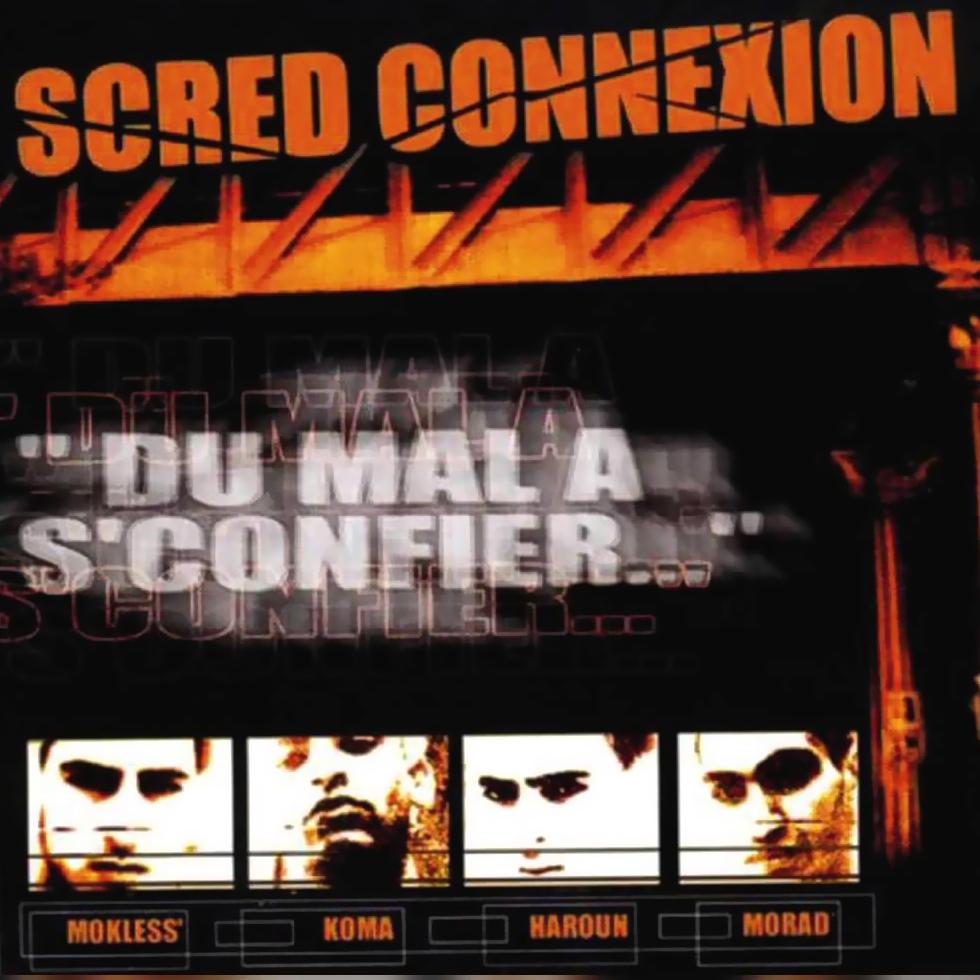 """Album Vinyl """"Scred Connexion - Du mal a s'confier"""" Edition Collector dédicacée"""