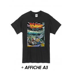 "T-Shirt ""Scred Festival 3018"" Noir + Affiche A3"