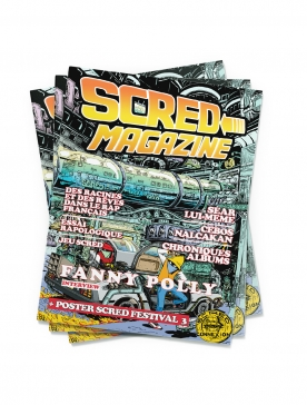 Scred Magazine version Papier
