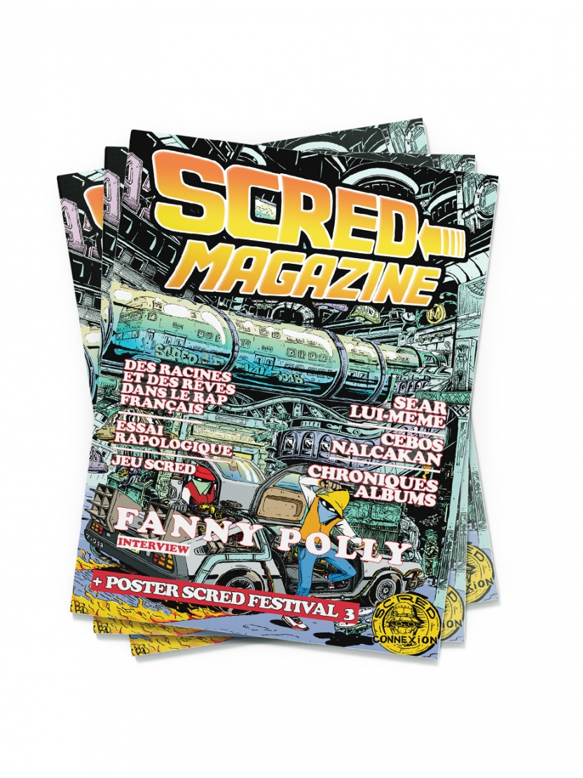 Scred Magazine version Papier