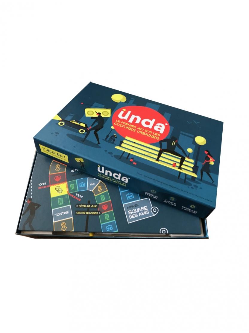 Unda - Le premier jeu de société sur les cultures urbaines