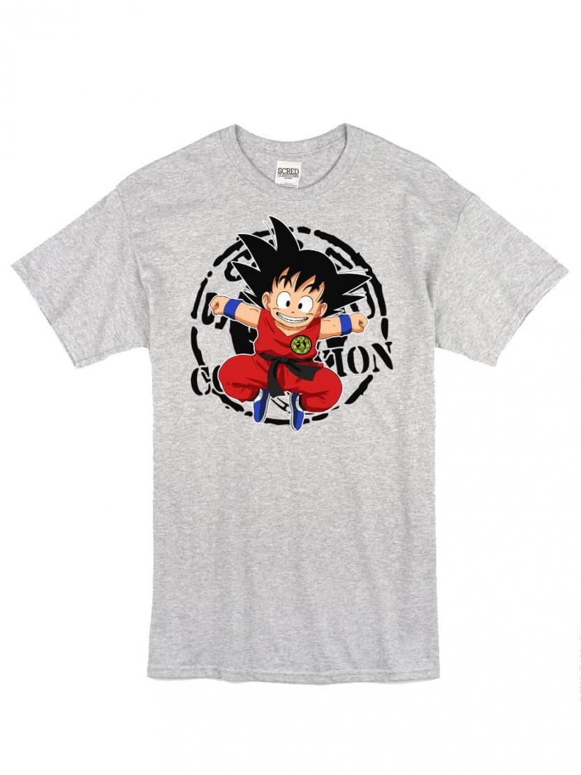 "T-Shirt Logo ""DBSCRED"" Gris"