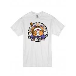 "T-Shirt Logo ""Tortue 2"" Blanc"