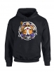 "Sweat Capuche ""Tortue2"" Noir"