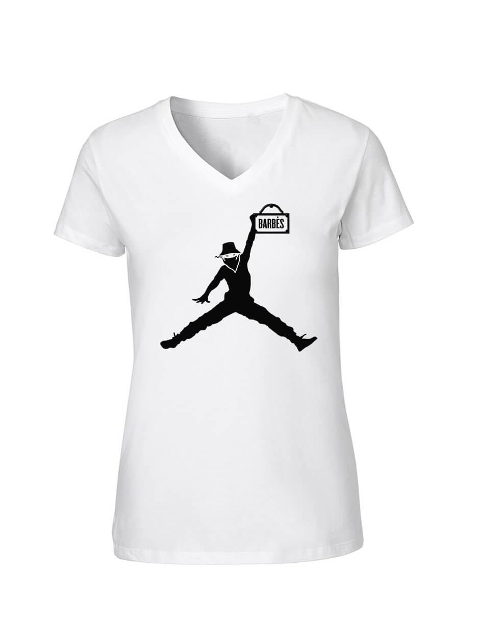 """T-Shirt Logo """"Scred Air"""" Blanc"""