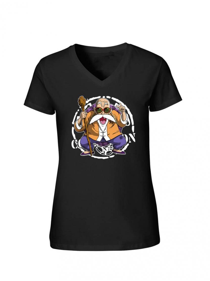 """T-Shirt Femme Logo """"Tortue 2"""" Noir"""