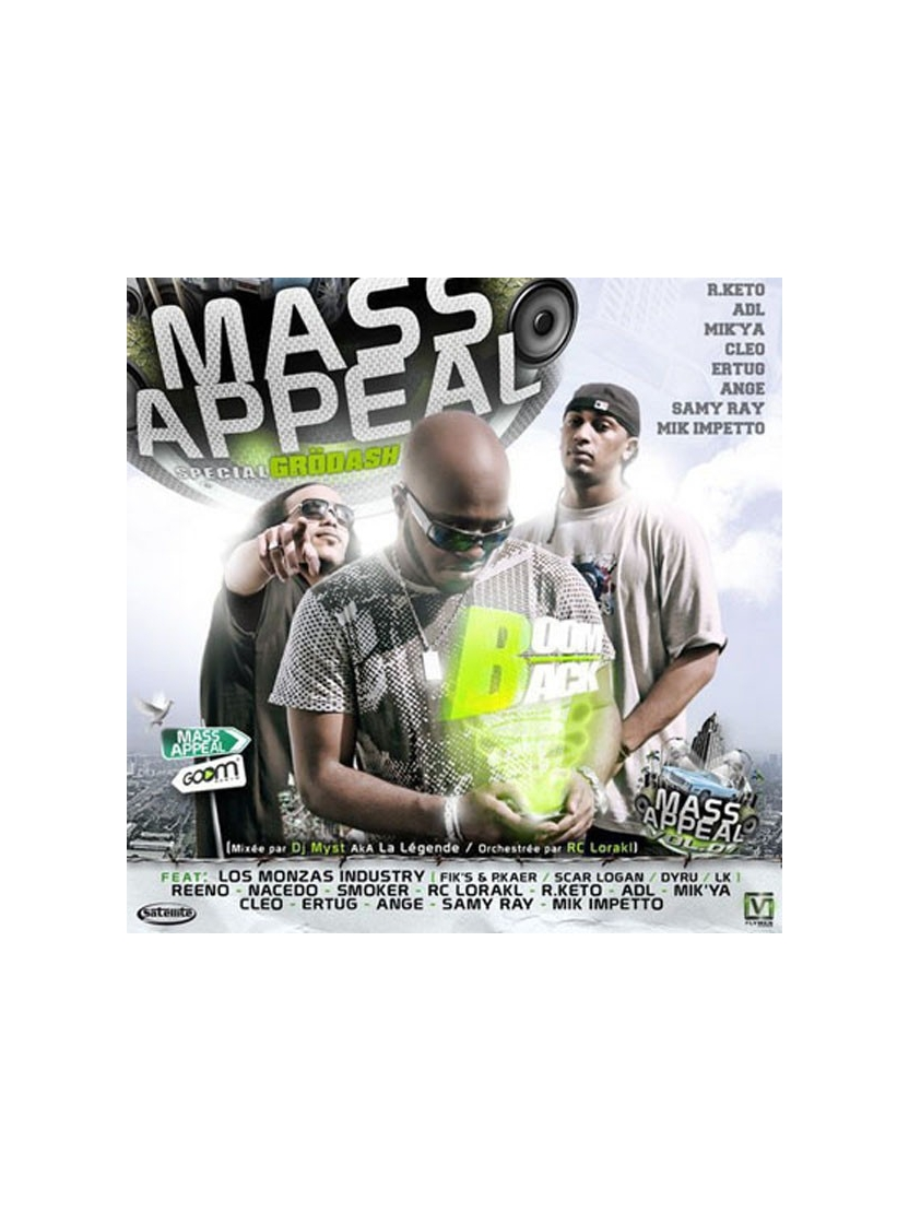 "Album Cd ""Mass Appeal - Spécial Grodash"""