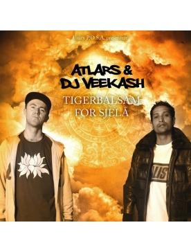 "Album Cd ""Dj Veekash & Atlars - Tigergalsam for Sjela"""