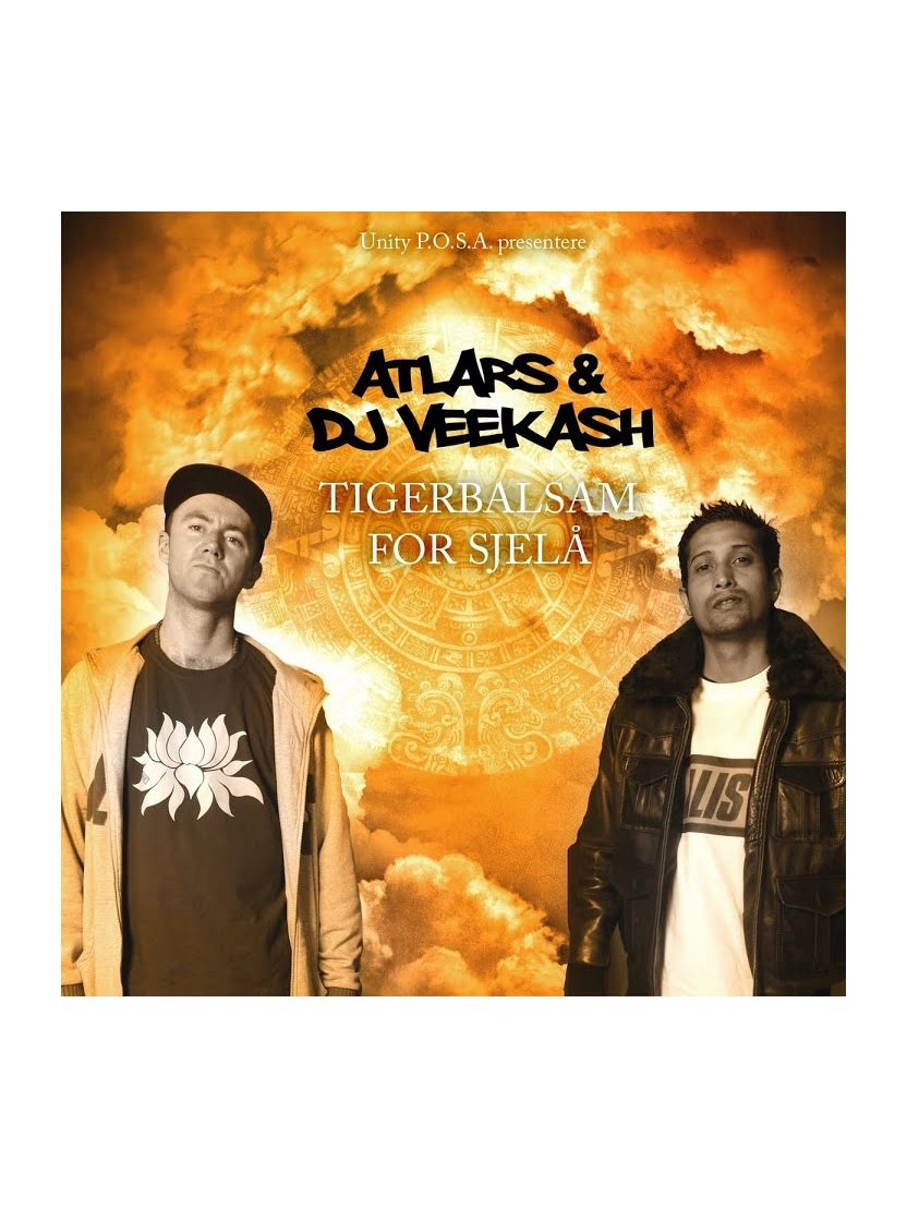 "Album Cd ""Dj Veekash & Atlars - Tigergalsam for Sjela"""