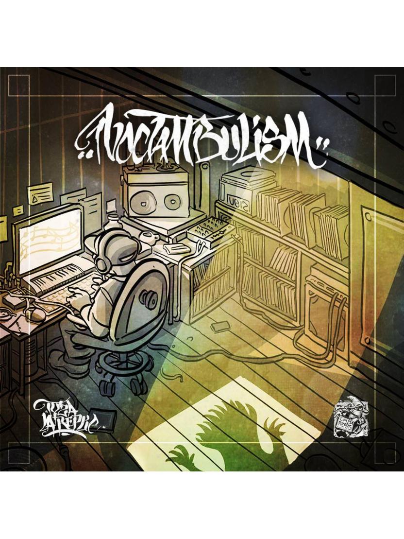 """Album Cd """"Tyza La Réplic - Noctambulism"""""""