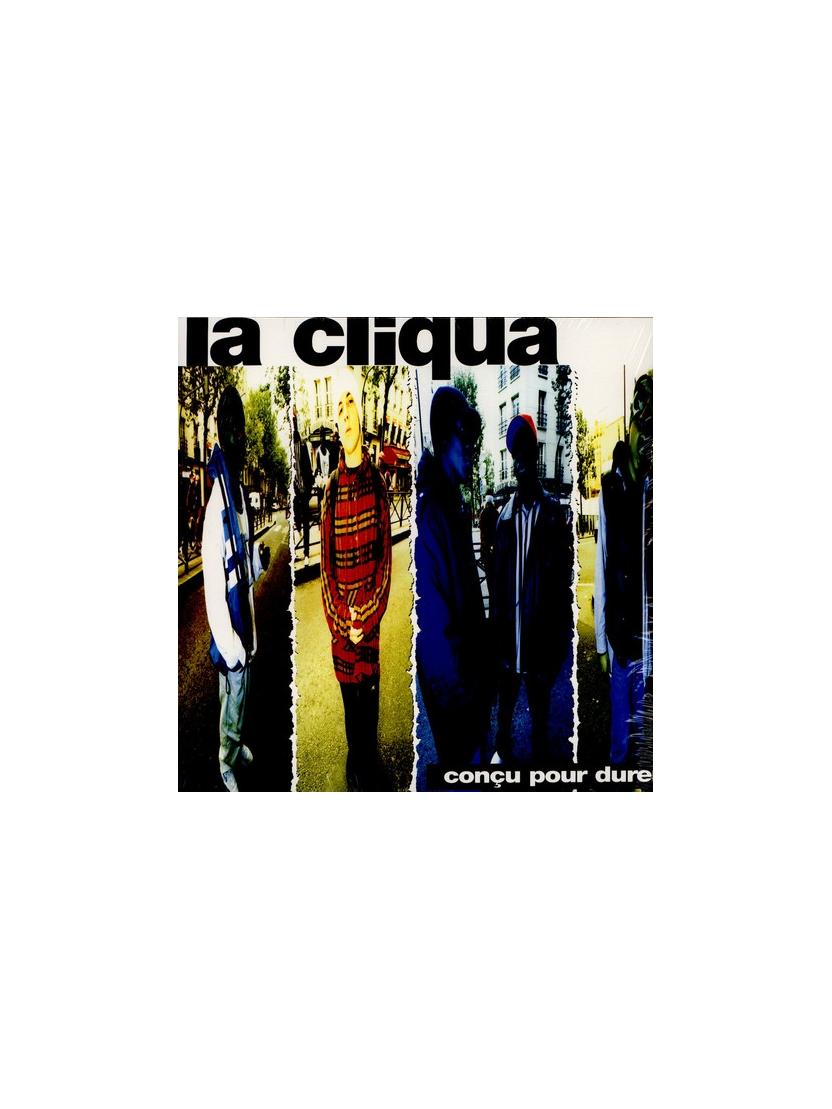 """Album Cd """"La Cliqua - Conçu pour Durer"""""""