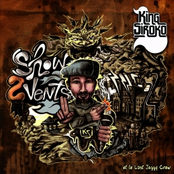 "Album Cd ""Show 2 Vents ! - KING SIROKO et LE LOST JAZZY CREW"""