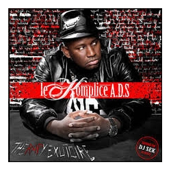 "Album Cd ""Le Komplice A.D.S - Dealer de Rimes"""