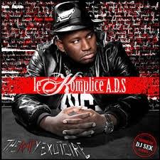"Album Cd ""Le Komplice A.D.S - Dealer de Rimes"""
